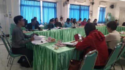 การประชุมคณะกรรมการกองทุนหลักประกันสุขภาพเทศบาลตำบลปัว ครั้งที่ 1/2562