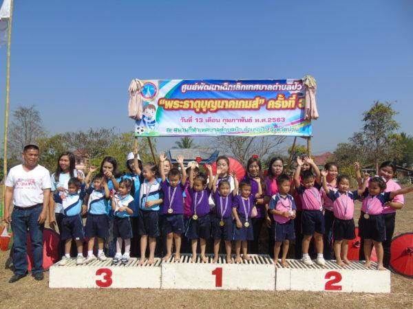 การแข่งขันกีฬาศูนย์พัฒนาเด็กเล็กเทศบาลตำบลปัว ประจำปี 2563
