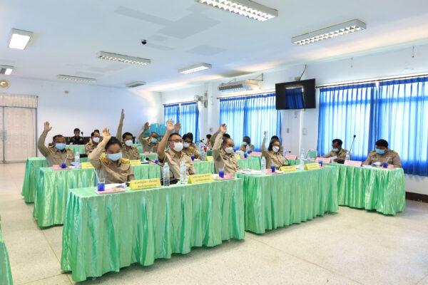การประชุมสภาเทศบาลตำบลปัว สมัยวิสามัญ สมัยที่ 1 ครั้งที่ 2 ประจำปี 2564