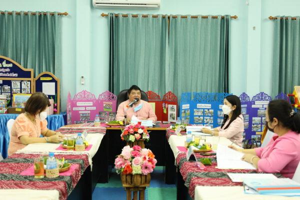 ประชุมกลั่นกรองการประเมินผลการปฏิบัติงาน และพิจารณาการเลื่อนขั้นเงินเดือน ของพนักงานครูเทศบาล และบุคลากรทางการศึกษาเทศบาล ครึ่งปีหลัง ประจำปีงบประมาณ 2564